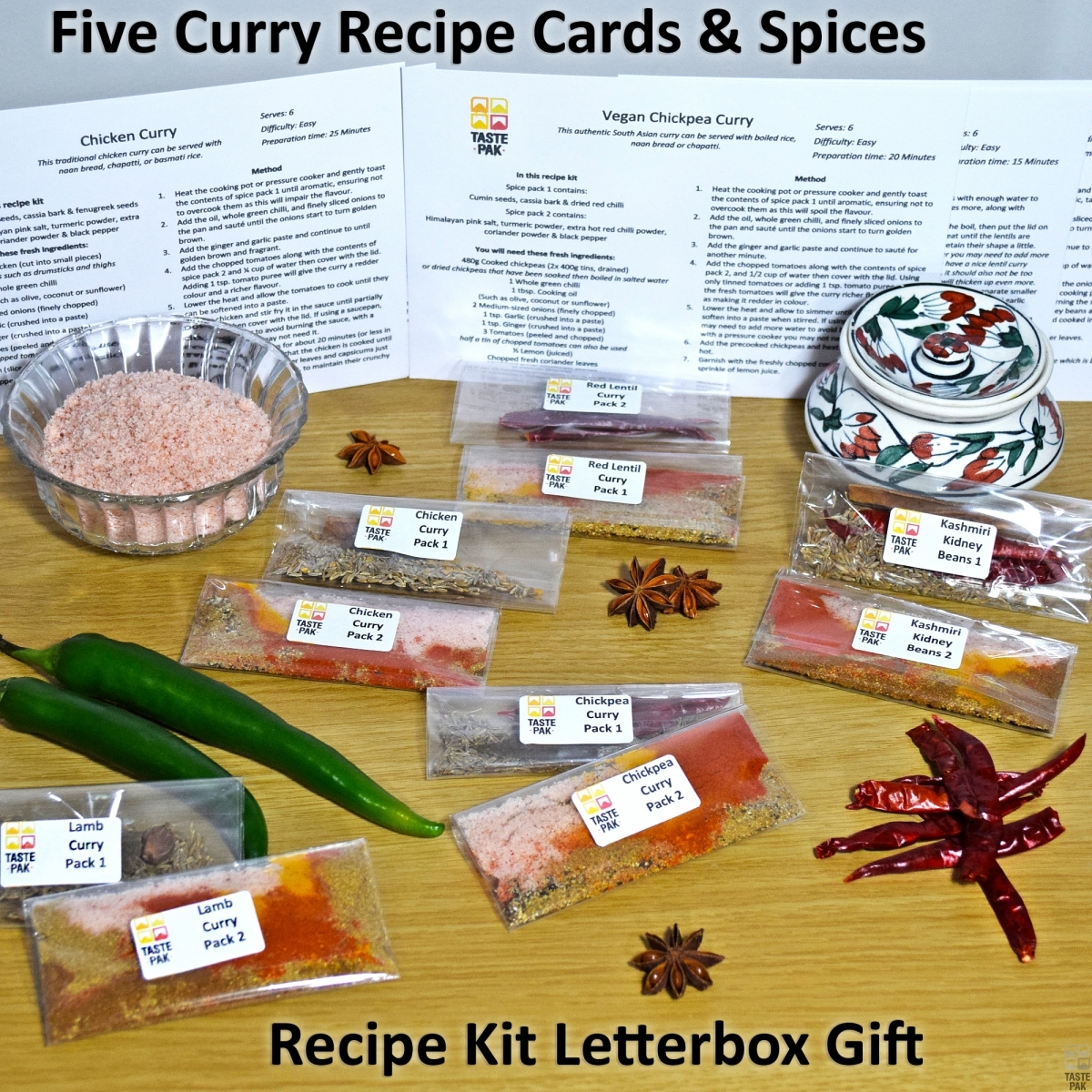 Curry Recipe Gift Set