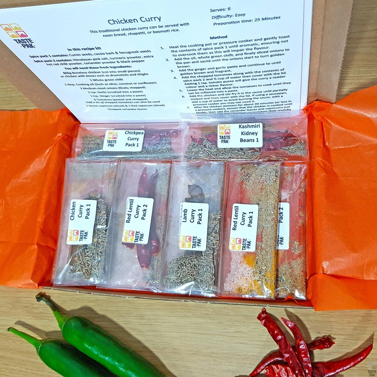 Curry Spice Mixes