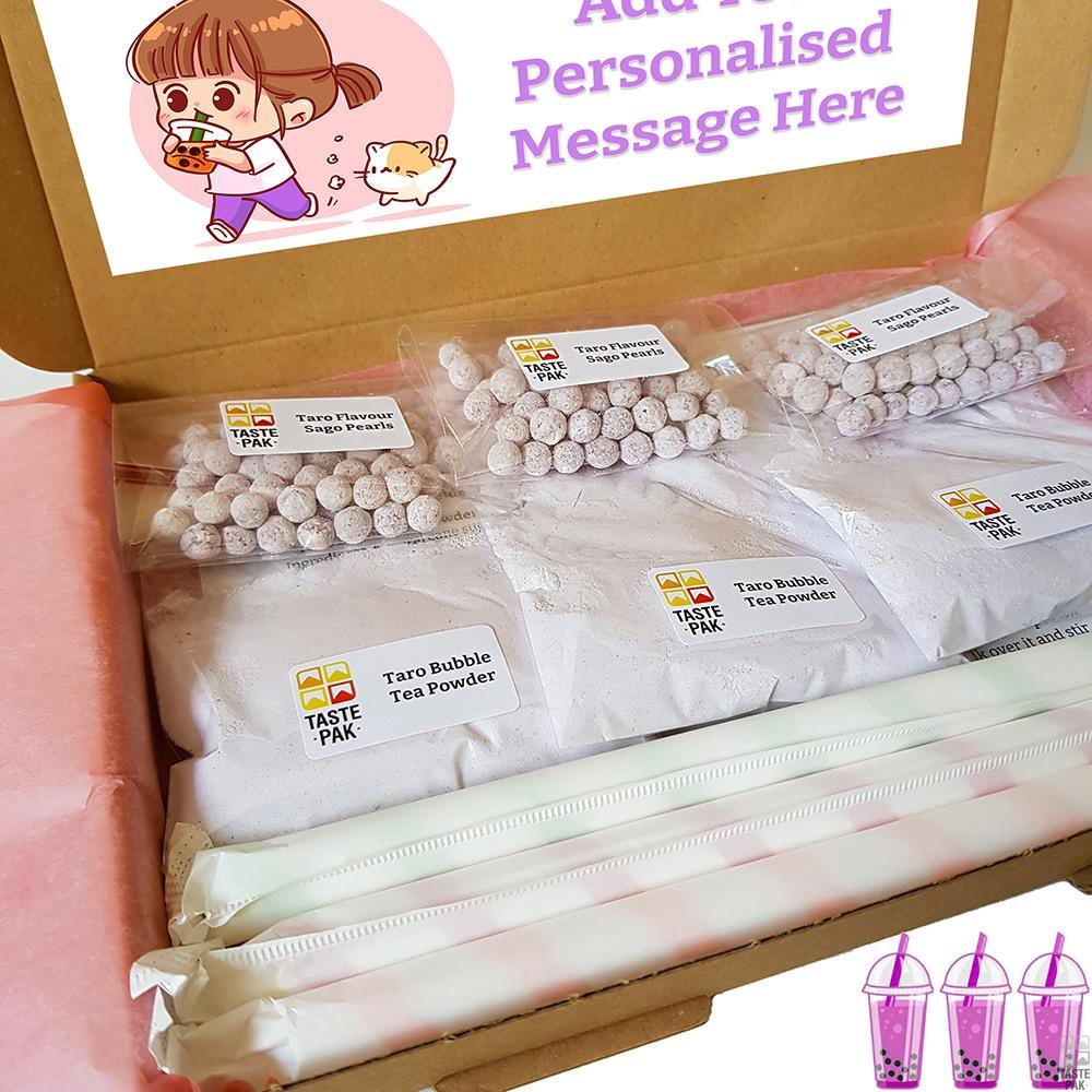 Taro Pearl Milk Tea Kit